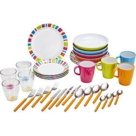 Brunner All Inclusive Dishes Set 36 Pieces, bont